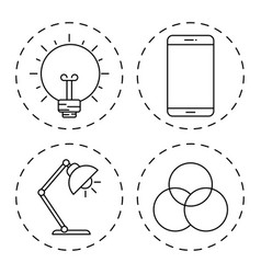 creative process design vector image