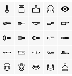 Knives and Cutting Tools vector image vector image