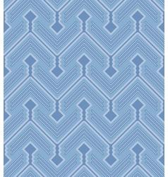 Zigzag pattern vector image vector image