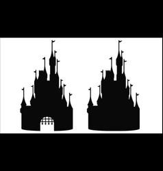 fantasy castle disney image vector image