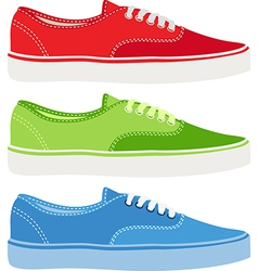 Gym Shoes vector