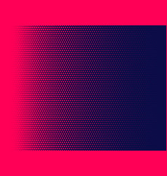 Halftone dots background magenta and dark blue vector