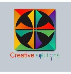 High quality original trendy logo for vector