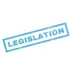 Legislation Rubber Stamp vector