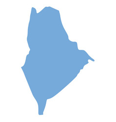 Maine state map vector