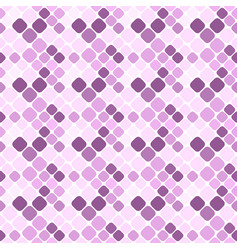 seamless abstract purple diagonal square pattern vector image