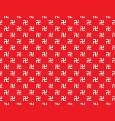 Swastika seamless pattern vector