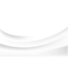 white silk satin background texture milk vector image