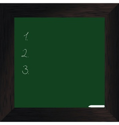 Wood bord green dark vector