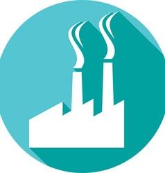 Industrial Factory Icon vector image