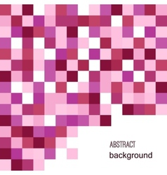 Abstract geometric background in shades of vector image