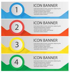 banner templates set vector image