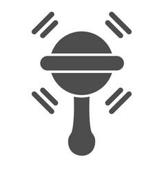 Beanbag solid icon batoy vector