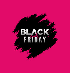 Black friday sale background banner vector