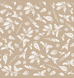 Floral nature pattern-01 vector