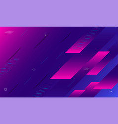 futuristic gradient geometric shape background vector image