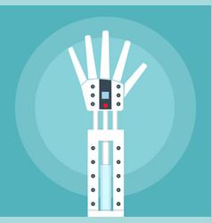 Robot arm vector