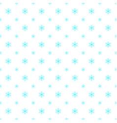 Seamless retro geometric snowfall pattern vector