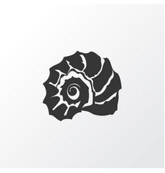 shell icon symbol premium quality isolated vector image