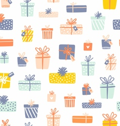 Party presents seamless pattern vector image