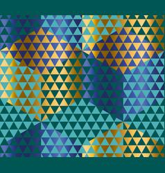 geometry motif in luxury carnival style harlequin vector image