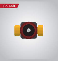isolated faucet flat icon tap element can vector image vector image