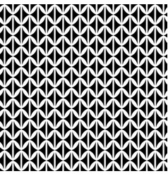 abstract seamless ornament black and white vector image