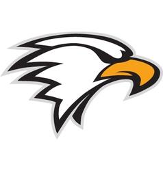 eagle mascot vector image