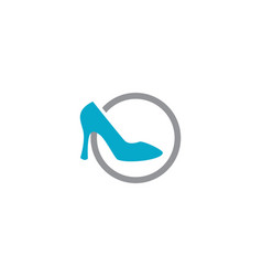 Elegant women shoe vector
