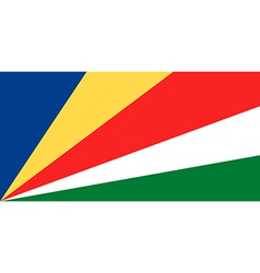 Flag of Seychelles vector image