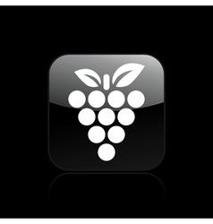 grape single icon vector image