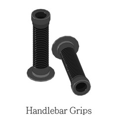 Grip handlebar icon isometric 3d style vector