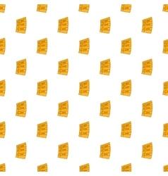 Idea plan work list pattern cartoon style vector