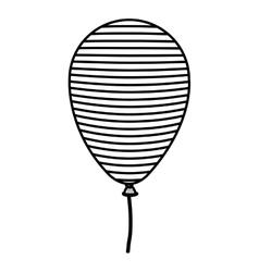 Isolated Usa balloon design vector