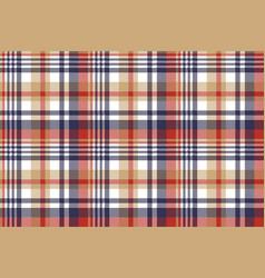 Pixel plaid textile tartan seamless pattern vector