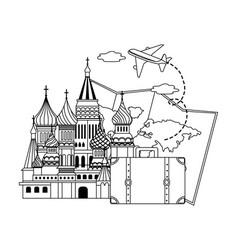 saint basil s cathedral design vector image