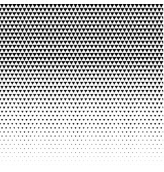 Triangle pattern design halftone vector