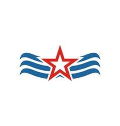 America star usa logo icon vector