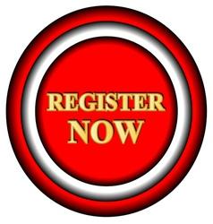Register now logo vector image