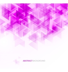 Violet shiny technical background vector image vector image