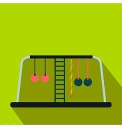 Children playground flat icon vector image vector image