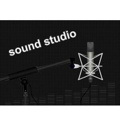 Sound Studio vector image vector image