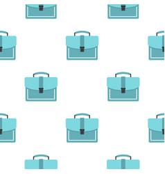 Briefcase pattern flat vector