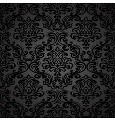 Damask vintage floral seamless pattern background vector