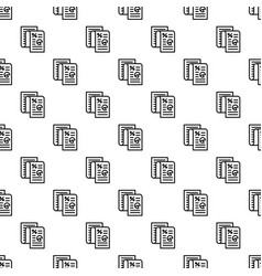 Finance paper pattern seamless vector