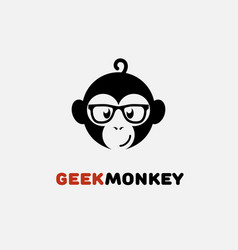 Geek logo vector
