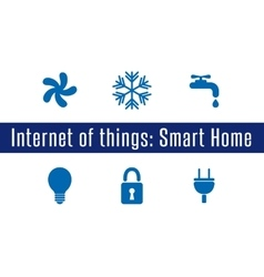 IoT - Smart Home vector image