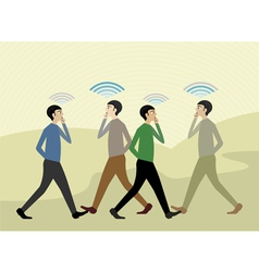 Signal communication vector