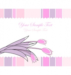 celebrate card vector image vector image