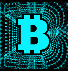 Bitcoin - electronic form of money and innovative vector